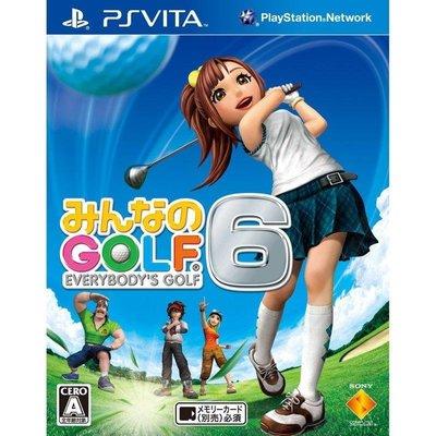 御玩家PSV 全民高爾夫6 日文版 8809338090637[PV20015]