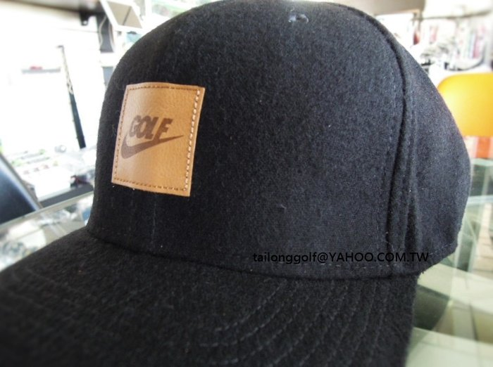 潮流單品 NIKE 素黑款 運動板帽 伸縮可調整 基本防曬 潮流頂尖