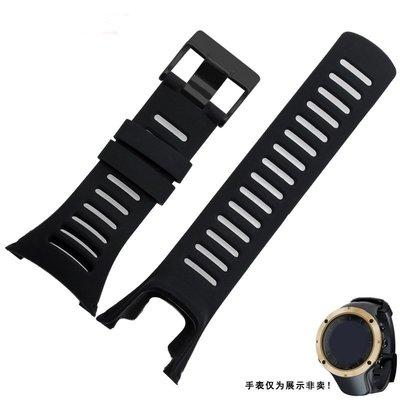 紅福松拓 SUUNTO 拓野 AMBIT系列 頌拓1 2 3代 錶帶 錶鏈戶外 智能手錶帶 環保硅膠 替換腕帶 時尚簡約