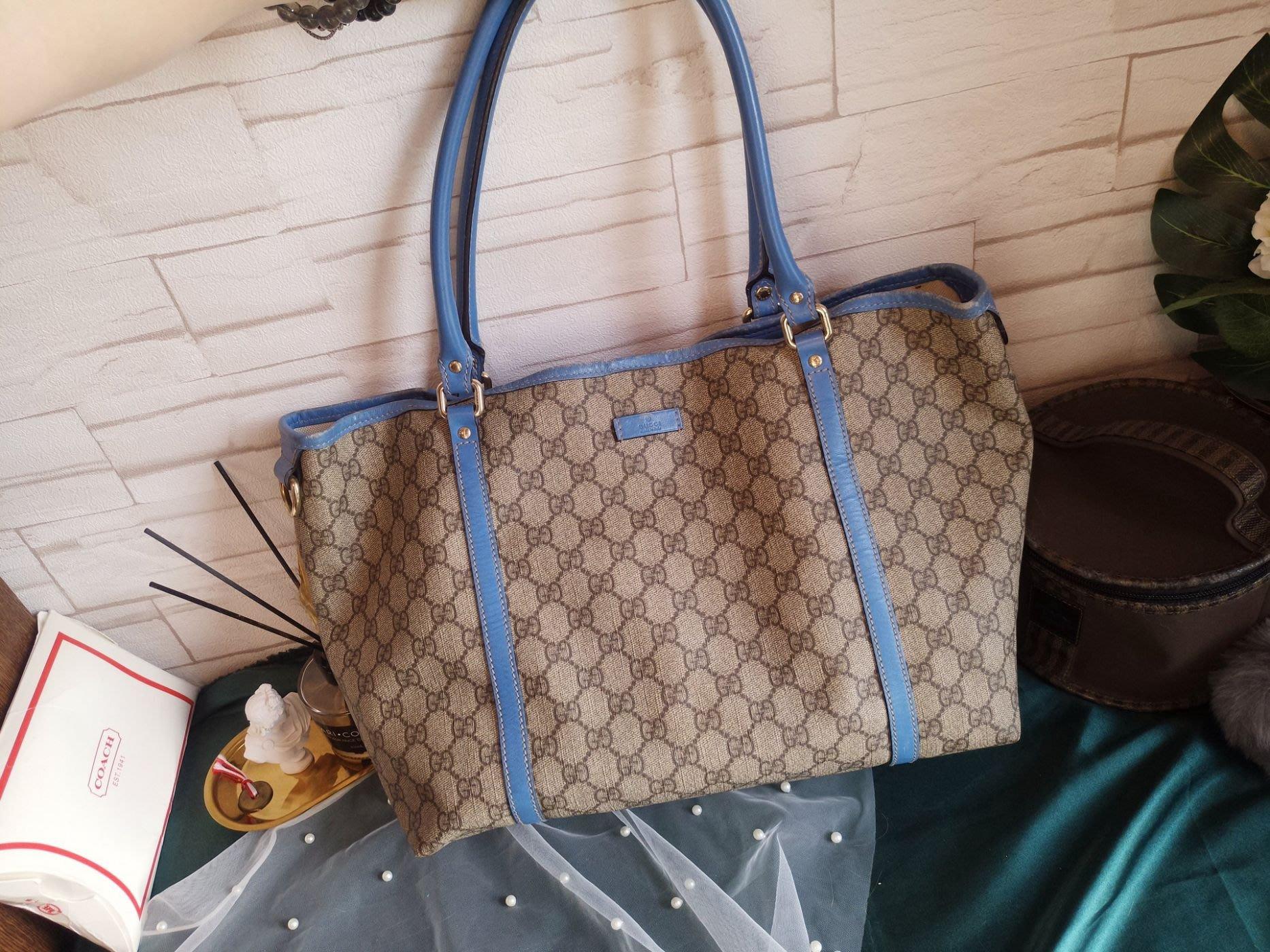 45828b3c413a 「中古奢品」Gucci古馳  7成新經典老花Logo NEVERFULL