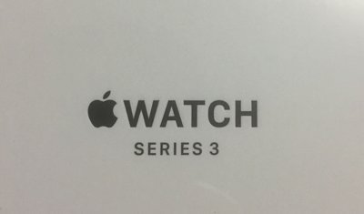 Apple Watch series3 42mm space gray