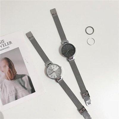 哆啦本鋪 手錶冷淡風手錶女學生正韓簡約 潮流 網紅氣質INS文藝復古百搭 D655