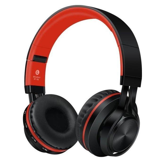 【不二】Sound Intone BT-06無線耳機頭戴式藍牙手機電腦用耳麥重低音音樂Lc_198