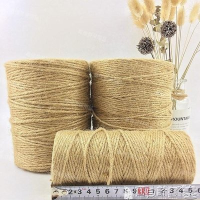 粗麻繩 黃麻繩優質麻繩復古裝飾粗細麻繩麻繩捆綁繩子