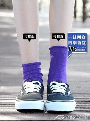 襪子襪子女薄款堆堆襪中筒純棉夏季韓版學院風日繫長襪韓國百搭春秋潮