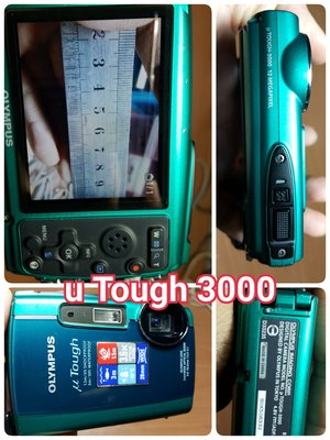 OLYMPUS C-60 FE-3000 μ-7000 μ Tough 3000 μ-1050 SW 數位相機 鴻F