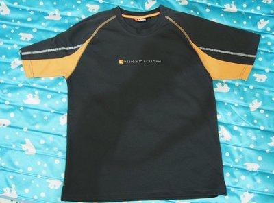 【85% NEW】SASAKI 吸濕排汗 運動圓領衫(深灰L)