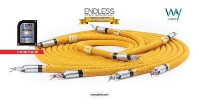 WAYCables ENDLESS 5N單晶銀 Speaker Cable 歡迎來電洽詢