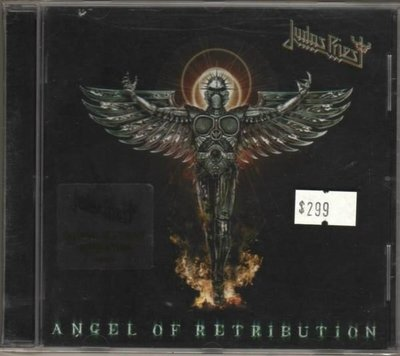 華聲唱片- JUDAS PREIEST /ANGEL OF RETRIBUTION / 全新未拆CD -- 010715