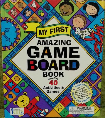 My first amazing Game Board Book more than 40 activities