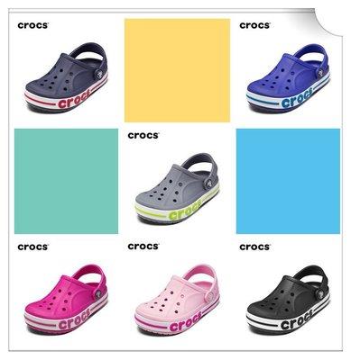 全館特惠 CROCS/卡駱馳 夏季新款 貝雅卡駱班 男女涼拖鞋 情侶鞋親子鞋 洞洞鞋 涼鞋