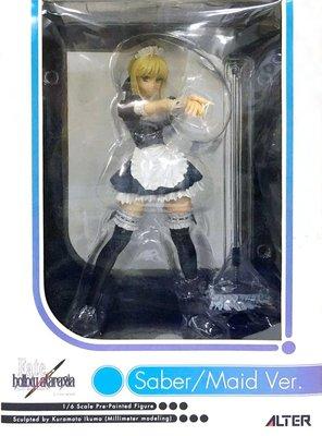 日本正版 ALTER Fate/hollow ataraxia saber 女僕 1/6 模型 公仔 日本代購