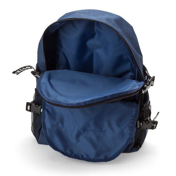 代購現貨 日本三麗鷗 Kitty 尼龍織帶三層拉鍊後背包