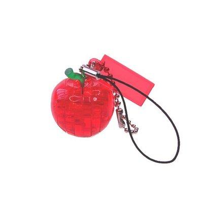 《3D水晶拼圖》 3D水晶拼圖 - 迷你吊飾 - 紅蘋果 (個)