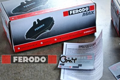 【廣明輪胎】英國FERODO MAX極限版 金屬陶瓷來令片 Ford Focus