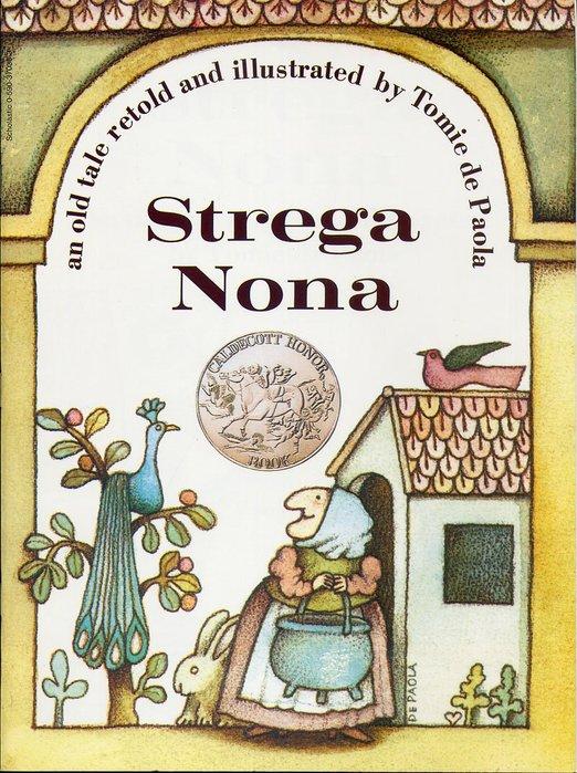 *小貝比的家*STREGA NONA(巫婆奶奶) [汪培珽英文書單]/平裝/3~6歲