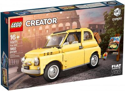 【CubeToy】樂高 CREATOR 10271 飛雅特 500 - LEGO Fiat 500 -