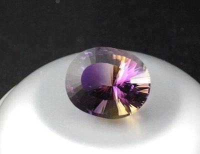 GA771 《特殊切割》超大紫黃晶 41.65ct