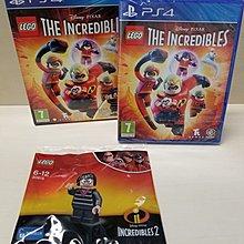 PS4 The Incredibles Lego 超人特攻隊 歐版套裝連E夫人minifigure 30615 Disney Pixar