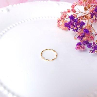 韓國❤️極簡 波紋 尾戒 造型 戒指【Verinas韓系美飾】