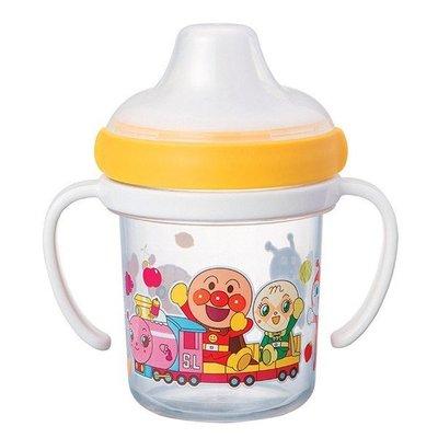 尼德斯Nydus 日本正版 嬰兒用品 麵包超人 外出用 水杯 水瓶 學習杯 雙把手 高約11cm 日本製