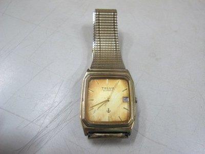 二手舖 NO.2660 鐵力士 TELUX 二手石英錶 零件錶