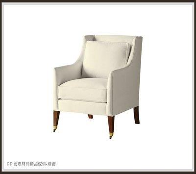 DD 國際時尚精品傢俱-燈飾 BARBARA BARRY REGENCY CHAI(復刻版)訂製 沙發椅比利時進口布