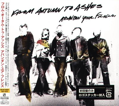 K - From Autumn To Ashes - ABANDON YOUR FRIENDS - 日版 - NEW