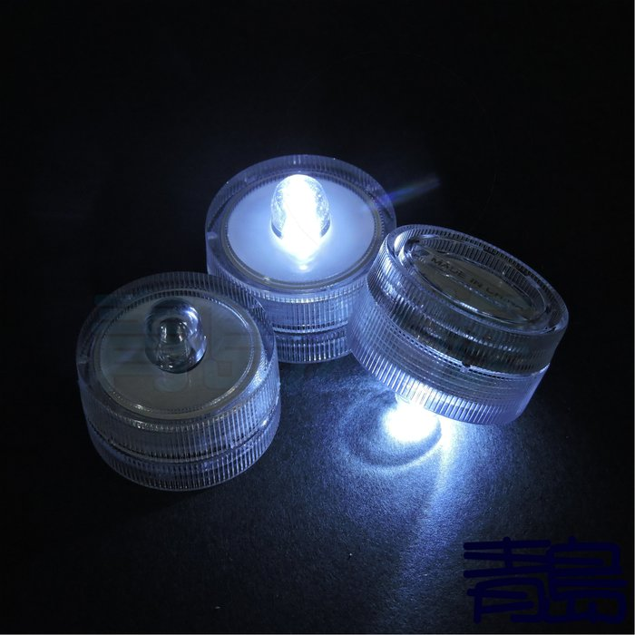Y。。。青島水族。。。F-210店長嚴選-----泰式展鬥超白鬥魚缸(含電池)==專用超迷你LED燈