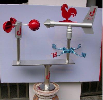工安用耐風型景觀風杯風向機(風向計風向儀) wind vane, JK Wind Compass, JK-28R+CUP