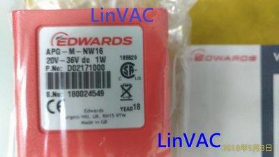 EDWARDS VACUUM GAUGE APG-M-NW16 D02171000 真空計