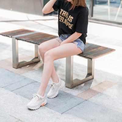 增高鞋-女鞋2019新款運動鞋春季老爹鞋女內增高加厚底ins超火網紅智熏鞋精品生活