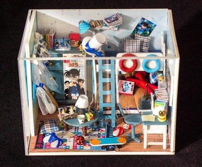 【酷正3C】DIY小屋 袖珍屋 娃娃屋 模型屋 材料包 玩具娃娃住屋 聖誕交換禮物 名偵探柯南