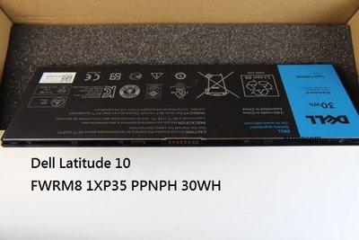 全新原装正品戴爾Latitude 10 FWRM8 1XP35 PPNPH平板電池30WH