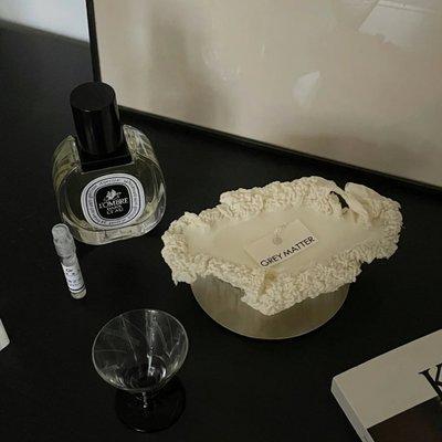 EDITOR01 x GREY MATTER滾燙的蠟燭奶油蛋糕手工香薰藝術套裝禮盒
