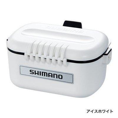 【NINA釣具】SHIMANO CS-132N 南極蝦盒/餌盒/蟲盒 白色/黑色