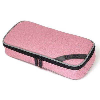 ♀高麗妹♀韓國 LOON LOON Pen Pouch 雙色滾邊Mellow 上掀式筆袋/小物收納包/化粧包(預購)