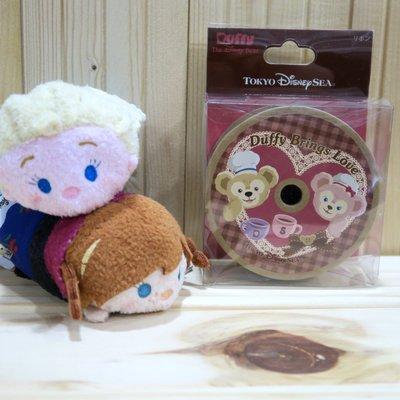 [H&P栗子小舖達菲緞帶東京迪士尼海洋 情人節 限定Sweet Duffy熊 達菲 雪麗玫 緞帶3M 現貨可直購