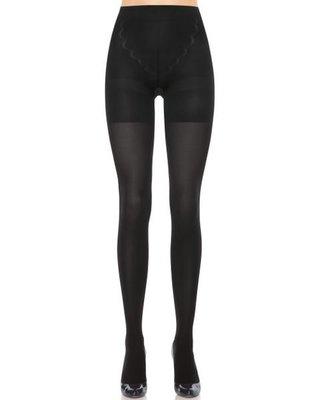 美國品牌SPANX~無痕平腹中腰塑身褲/束身褲/連身褲襪 50DEN #1837 ASSETS系列 黑色