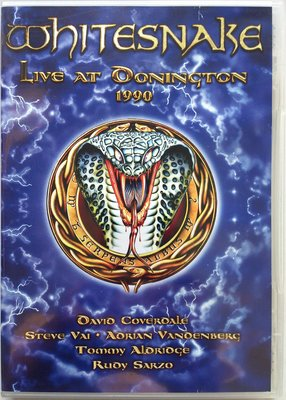 DVD/ Whitesnake - Live At Donington 1990 二手 搖滾帝國