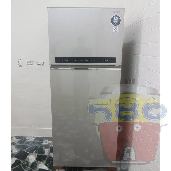 全省免運費~退稅機款《台南586家電館》SANLUX三洋變頻雙門冰箱480公升【SR-C480BV1A】