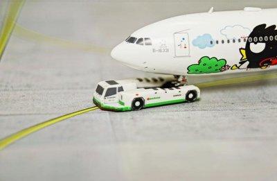[RBF]1/400 長榮航空 地勤後推螃蟹車 螃蟹車 拖車 標準圖裝 (不含飛機模型)