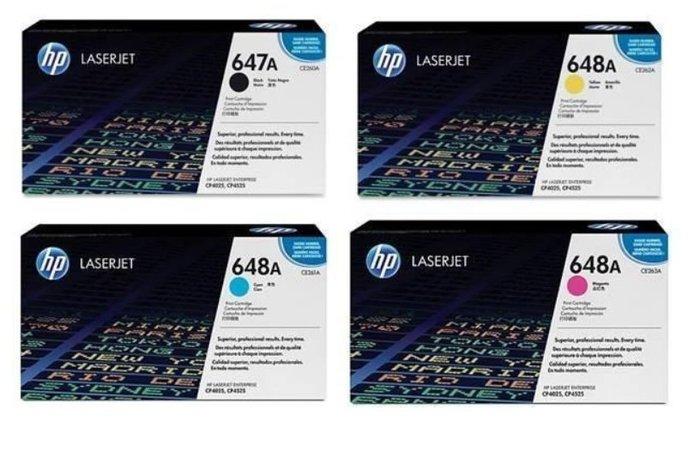 HP 647A 648A 原廠碳粉匣 AC包 四色 CE260A CE261A CE262A E263A合購特惠價