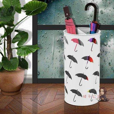 傘架 落地雨傘架子 酒店大堂歐式鐵藝辦公簡約多功能收納架 雨傘收納桶T