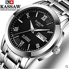 yes99buy加盟-瑞士正品 卡梭 全自動 雙日曆 鏤空 手錶 十天預購
