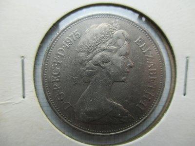英國.10 new pence.1975年