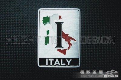 【極致金屬】義大利車系 歐盟地圖  車輛識別 金屬銘牌 alfa fiat ferrari