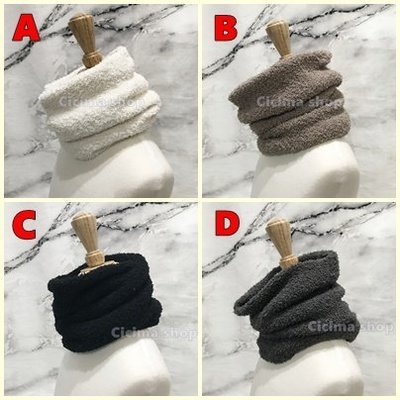 雙層 保暖 加厚 防風 防寒 脖圍 圍脖 頭套 圍巾 面罩 頸圍 頸套 素色素面 寒流 騎