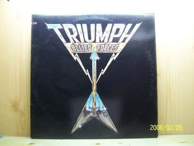 【原版流行LP】1404.Allied Forces:Triumph專輯,made in USA,片況:EX,price:NT$300.