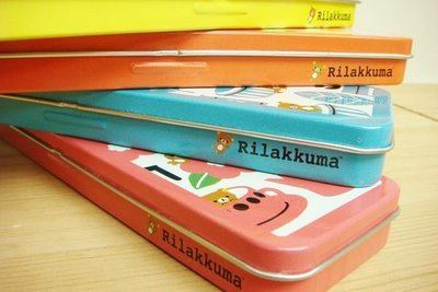 ~Alice Family~韓國bestin ,Rilakkuma懶懶熊拉拉熊 單層鐵製鉛筆盒 文具盒~共4款~